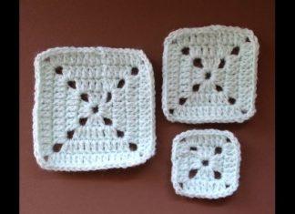 Dolgulu Kare Motifli Battaniye Nasıl Yapılır? - Örgü Modelleri - crochet crochet free pattern kolay örgü modelleri motifli battaniye modeli tığ işi örgü modelleri videolu örgü modelleri