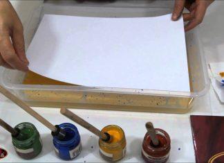 Ebru Sanatı Nasıl Yapılır? - Ebru Hobi Dünyası - ebru sanatı nasıl yapılır video ebru sanatı nedir ebru sanatı video ebru sanatı yapılışı