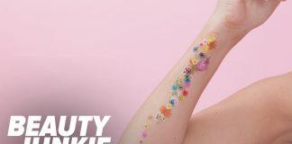 Evde Dövme Yapımı - Kendin Yap Makyaj - çiçek dövme yapımı dövme nasıl yapılır evde dövme kolay dövme