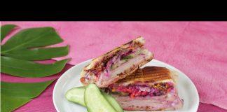 Hindi Sandviç Tost Yapılışı - Tavuk Yemekleri - atıştırmalık tarifleri ekmek arası hindi sandviç sandviç tarifleri tost fikirleri tost tarifleri