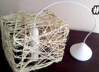İpten Lamba Nasıl Yapılır? - Dekorasyon Geri Dönüşüm Projeleri Kendin Yap - DIY projeleri hasır ipten avize yapımı hasır ipten lamba hasır ipten lamba nasıl yapılır ipten lamba yapılışı ipten lamba yapma