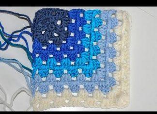 Kare Papatya Bebek Battaniyesi Modeli Yapılışı - Örgü Modelleri - crochet free crochet pattern kolay örgü modelleri motifli battaniye modeli motifli örgü modelleri videolu örgü modelleri