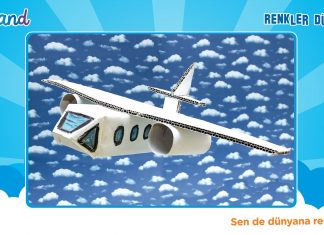 Karton Kutudan Maket Uçak Yapımı - Geri Dönüşüm Projeleri Okul Öncesi Etkinlikleri - etkinlik önerileri kağıttan maket uçak yapımı maket uçak yapılışı maket uçak yapımı kartondan okul öncesi etkinlikler