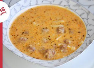 Köfteli Erişte Çorbası Nasıl Yapılır? - Çorba Tarifleri Köfte Tarifleri - ekşili köfte çorbası tarifi erişteli çorba tarifi erişteli köfteli çorba videolu çorba tarifleri yemek tarifleri