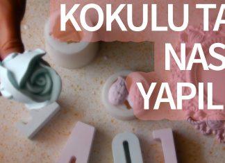 Kokulu Taş Nasıl Yapılır? - Dekorasyon Kokulu Taş - baby shower bebek şekeri nikah şekeri