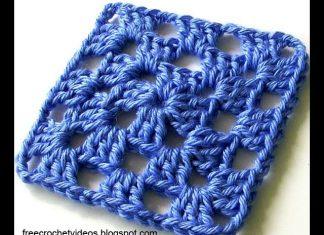 Tığ İşi Kare Motif Nasıl Yapılır? - Örgü Modelleri - bebek battaniyesi modelleri crochet crochet free pattern motifli battaniye modeli tığ işi örgüler videolu örgü modelleri