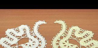 Tığ İşi Kuğu Modeli Yapımı - Örgü Modelleri - el işi örgü modelleri örgü kuğu modeli tığ işi örgü modelleri