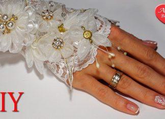 Dantelden Eldiven Nasıl Dikilir? - Dikiş - dantel eldiven dikimi dantel eldiven modelleri dantel eldiven nasıl dikilir eldiven modelleri