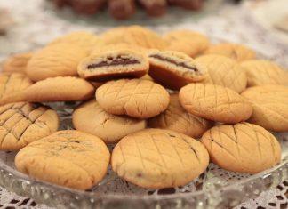 Evde Kolay Biskrem Kurabiye Tarifi - Hobi Dünyası - biskrem kurabiye çikolata dolgulu kurabiye evde kurabiye