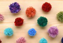 Kolay Pom Pom Nasıl Yapılır? - El İşi Hobi Dünyası Kendin Yap - evde pom pom kolay pom pom pom pom yapımı