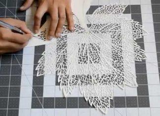 Kağıt Oyma Sanatı Nasıl Yapılır? - Quilling - kağıt oyma malzemeleri katı sanatı nasıl yapılır katı sanatı örnekleri