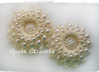 Kurdeleden Çiçek Yapılışı - Nakış Saç Modelleri - kurdeleden çiçek nasıl yapılır kurdeleden kolay gül yapımı saten kurdeleden çiçek yapımı