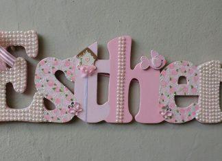 Bebek İsimlikleri Nasıl Yapılır? - Ahşap Boyama Anne - Çocuk - bebek odası ahşap harfler bebek odası duvar isimlik bebek odası kapı isimlikleri