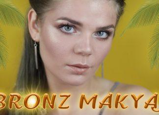 Bronz Makyaj Nasıl Yapılır? - Makyaj - beyaz tene bronz makyaj bronz göz makyajı doğal makyaj nasıl yapılır video güzel makyaj yapma teknikleri