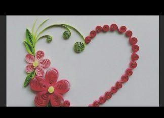 Quilling Duvar Süsü Yapımı - Dekorasyon Quilling - quilling çiçek yapımı quilling örnekleri quilling sanatı quilling teknikleri nasıl yapılır 1