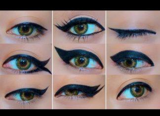 Eyeliner Sürme Teknikleri - Makyaj - eyeliner çekme aşamaları eyeliner çekmenin püf noktaları eyeliner nasıl sürülür kolay kaşıkla eyeliner nasıl sürülür
