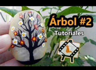 Taş Boyama Ağaç Yapımı - Taş Boyama - kolay taş boyama örnekleri taş boyama malzemeleri taş boyama örnekleri taş boyama tablolar
