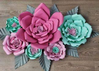 3D Çiçek Modeli Yapımı - Dekorasyon Geri Dönüşüm Projeleri Quilling - 3 boyutlu çiçek modeli nasıl yapılır istersen yaparsın çiçek şablonu kağıttan çiçek yapımı anlatımlı kartondan çiçek nasıl yapılır