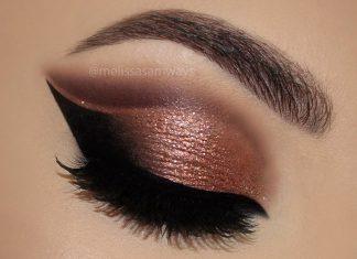Düğün İçin Göz Makyajı - Makyaj - bakır tonlarında far göz makyajı teknikleri göz makyajı youtube kahverengi dumanlı göz makyajı kahverengi gözlüler için makyaj tüyoları