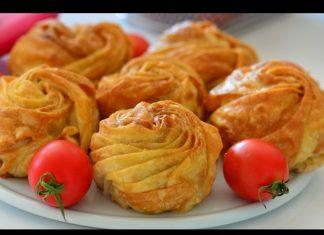 Peynirli Gül Böreği Nasıl Yapılır? - Börek Tarifleri - hazır yufkadan börek nasıl yapılır hazır yufkadan peynirli börek hazır yufkadan tepsi böreği kıymalı gül böreği nasıl yapılır