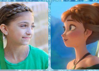Frozen Anna Saç Modeli - Saç Modelleri - elsa topuzu nasıl yapılır Frozen Inspired Anna's Coronation Hairstyle Tutorial önü örgülü topuz modelleri örgü topuz videoları
