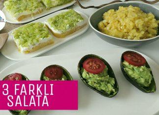 İkramlık Salata Tarifleri - Salata Tarifleri - çay saati salata tarifleri değişik salata tarifleri gün için değişik salata tarifleri güzel salata çeşitleri