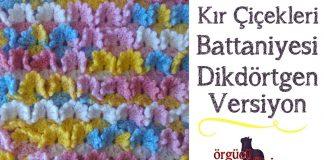 Kır Çiçekleri Bebek Battaniyesi Yapılışı - Örgü Modelleri - bebek battaniyeleri ve yapılışları bebek battaniyesi örgü modelleri açıklamalı tığ işi bebek battaniyesi örgü modelleri anlatımlı yeni bebek battaniye örnekleri