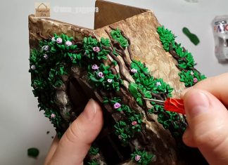 Ahşap Ev Poşetlik - Ahşap Boyama - ahşap boyama örnekleri ahşap ev poşetlik ahşap poşetlik malzemeleri ahşap poşetlik nasıl yapılır ahşap poşetlik süsleri