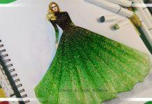 Elbise Çizimleri Nasıl Yapılır? - Dikiş Moda - elbise çizimi modelleri elbise çizimleri kolay elbise çizimleri kolay renkli elbise çizimleri modelleri moda çizimleri kolay