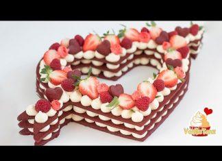Kalp Şeklinde Pasta Tarifi - Pasta Tarifleri - baby shower pasta değişik pasta tarifleri kalp şeklinde pasta modelleri kalpli pasta nasıl dilimlenir pasta modelleri