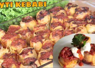 Pratik Beyti Kebabı - Et Yemekleri - beyti kebap ev yapımı beyti kebap yalancı beyti yalancı beyti kebap tarifi