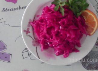 Kırmızı Lahana Turşusu Püf Noktaları - Salata Tarifleri - kolay lahana turşusu tarifi mor lahana sirkeli mor lahana turşusu restoranlardaki kırmızı lahana salatası