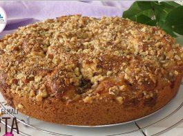 Karamelli Elmalı Tarçınlı Kek - Kek Tarifleri -