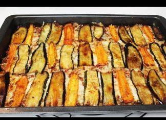 Fırında Kıymalı Patlıcan Yemeği