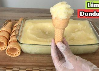 Evde Dondurma Nasıl Yapılır?