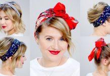 5 Farklı Saç Bandı Bağlama Nasıl Yapılır?