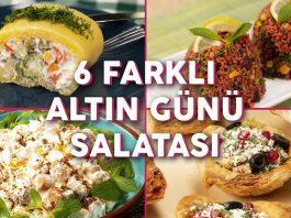 6 Farklı Salata Tarifleri