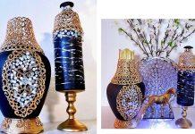 Cam Kavanozdan Vazo Yapımı