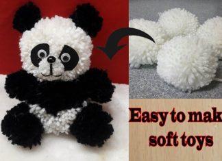 İpten Panda Nasıl Yapılır?
