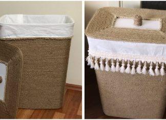 Eski Çamaşır Sepetini Değerlendirme