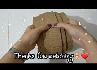 Kartondan Hasır Kutu Nasıl Yapılır?