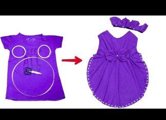 Eski Tişörtten Elbise Nasıl Yapılır?