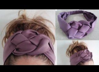 Lastikli Saç Bandı Nasıl Yapılır?