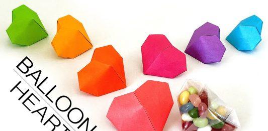 Origami Kalp Nasıl Yapılır?