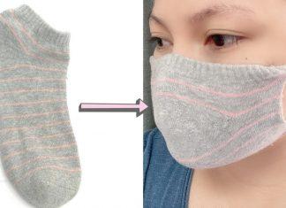 Çoraptan Maske Yapmak