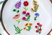 El Nakışı Çiçek Modelleri Nasıl Yapılır?