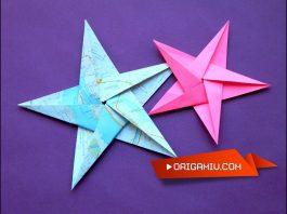 Origami Yıldız Nasıl Yapılır?
