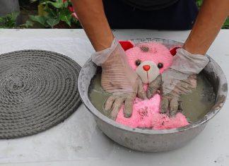 Çimentodan Saksı Yapımı