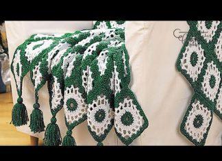 Tığ İşi Bebek Battaniyesi Modelleri ve Yapılışları