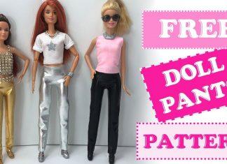 Barbie Pantolon Nasıl Yapılır?